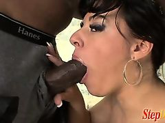 Kendra Starr has a good-looking black stepdad that she