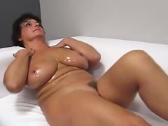 oiled up mature banged