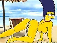 Simpsons porn parody