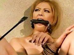 Master punishing hot girl